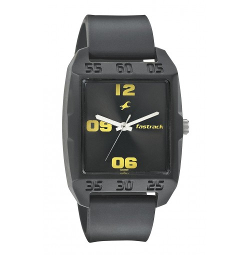 Fastrack Casual Analog Black Dial Men's Watch - 3115PP02