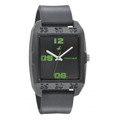 Fastrack Casual Analog Black Dial Men's Watch - 3115PP03