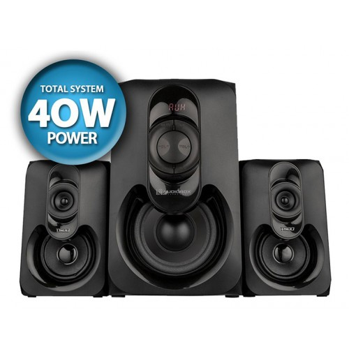 AUDIOBOX Super Bass Subwoofer with Twin Speakers THOR 500