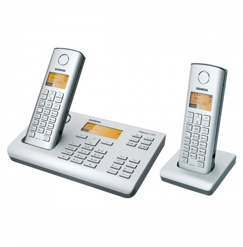 Siemens Gigaset 2-line Cordless Phone with 2 Handsets C285 Duo