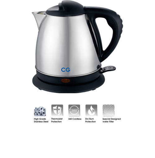 CG Electric Kettle 1.5 L CG-EK15A01