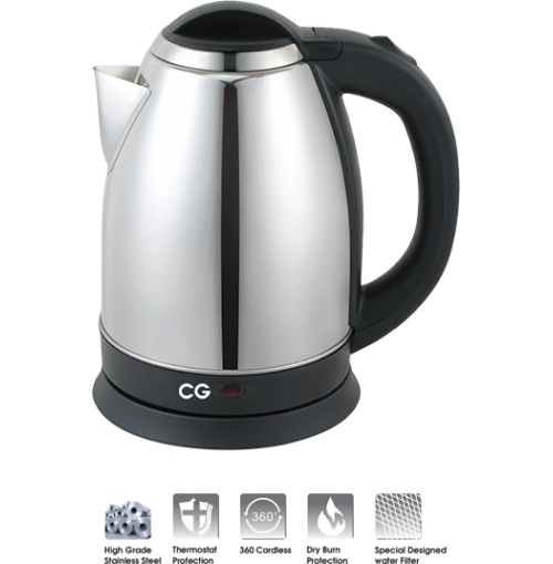 CG Electric Kettle 1.8 L CG-EK18C02