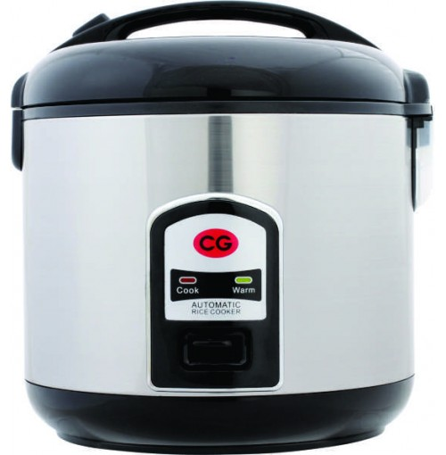 CG Rice Cooker 2.8 Ltrs (Steel Body) CGRC28DLXH