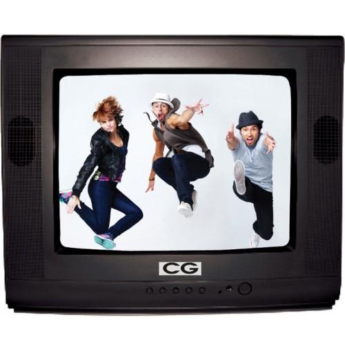 """C G 14"""" Normal Television CG-VA14SA CZANA"""
