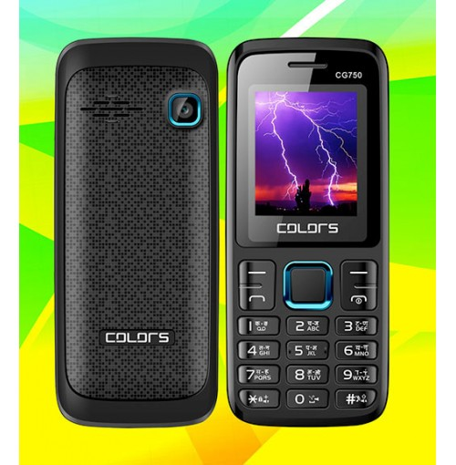 Colors CG-750(GSM+CDMA) Mobile Phone