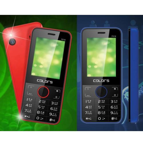 Colors F-018 Dual Sim Bar Phone