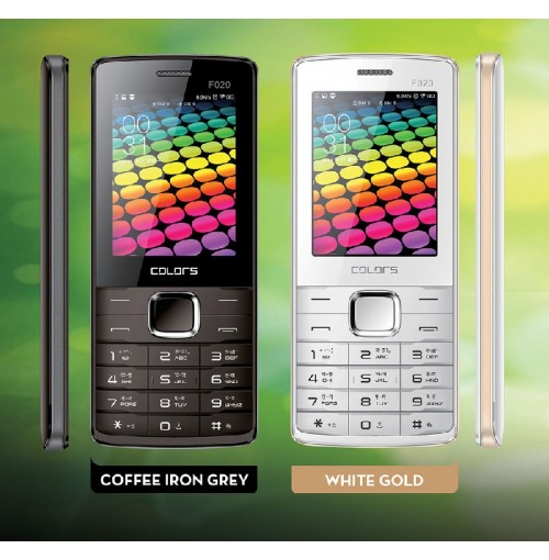 Colors F-020 Dual Sim Bar Phone