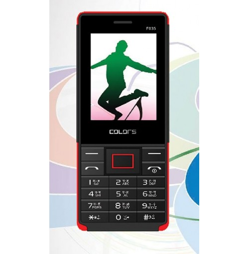 Colors F-035 Dual Sim Bar Phone