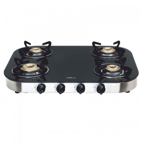 Elica Gas Stove Turno with 4 Burners