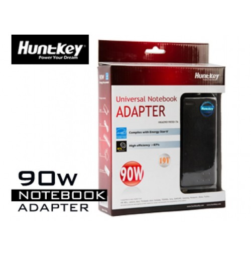 Huntkey Universele Notebook Adapter 90W HKA09019050-7A