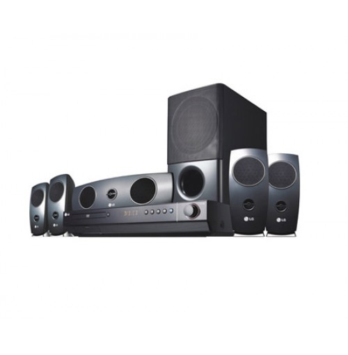 LG 1200W RMS DVD Home Theater With Specially Tuned Bass Enables You To Experience Dynamic And Deep Sound. HT-924SF