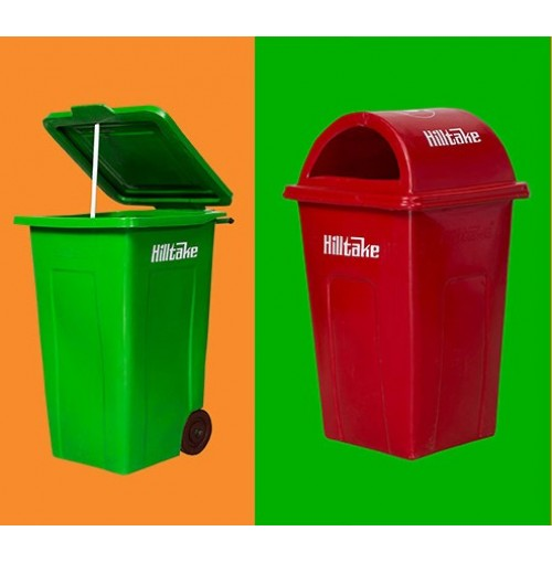 Hilltake Dustbin Big with Wheel