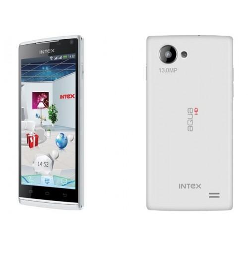 Intex  smartphone  Aqua HD