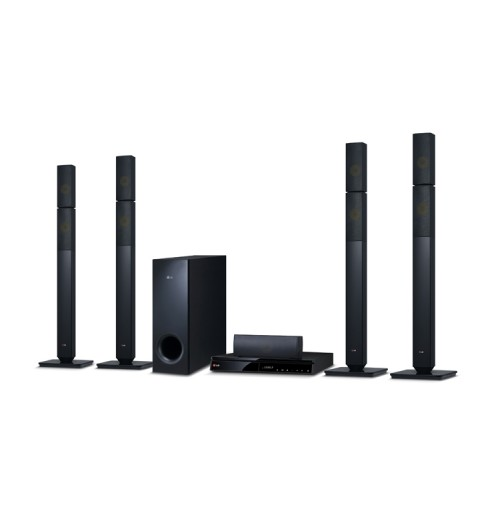 LG 1000W 5.1ch DVD Home Theater DH6631T