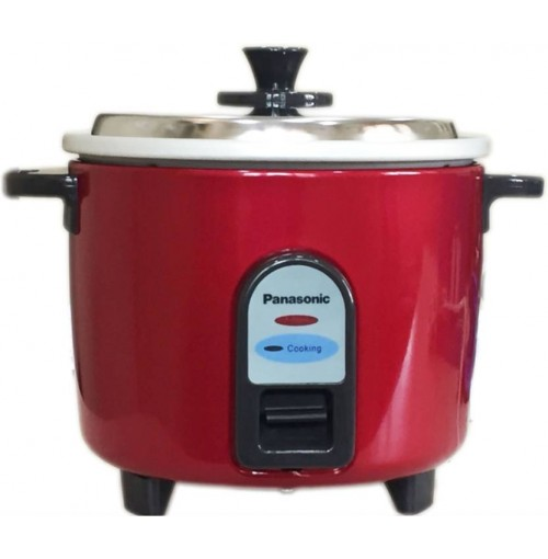 Panasonic 1 L Electric Rice Cooker SR-WA 10 (GE9) Burgundy