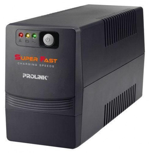 PROLiNK 650VA Super-Fast Charging UPS, PRO700SFC