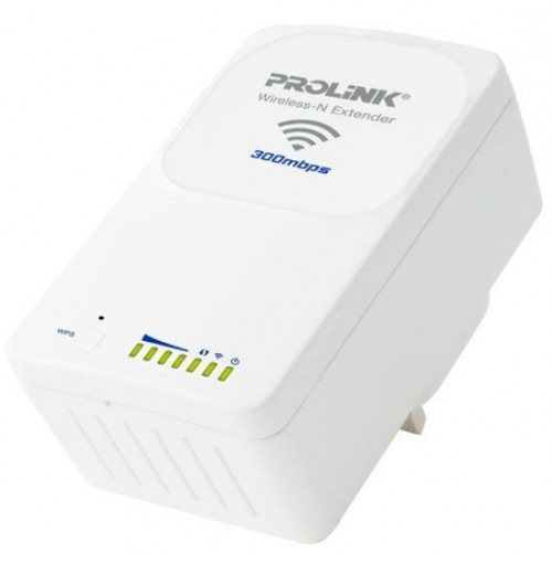 PROLiNK 300Mbps Wireless-N Extender, PWN3701