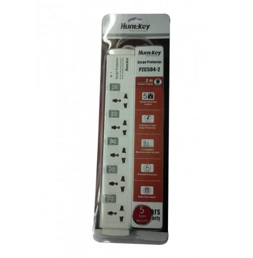 Huntkey-5 Sockets Surge Protector PZC504-2