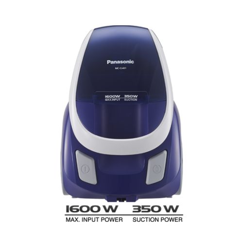Panasonic 1600 W Vacuum Cleaner MC-CL431