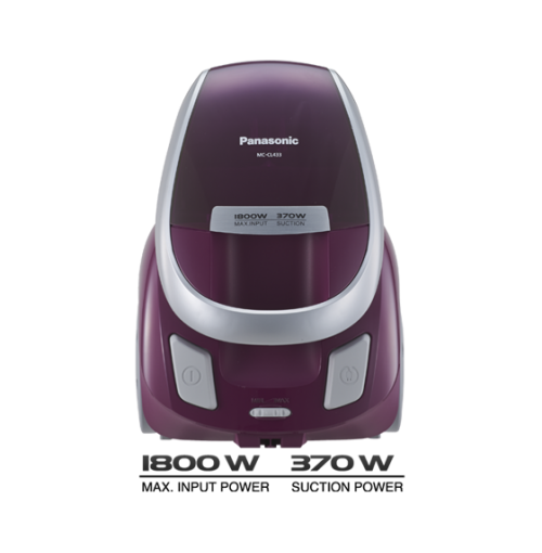 Panasonic 1800 W Vacuum Cleaner MC-CL433