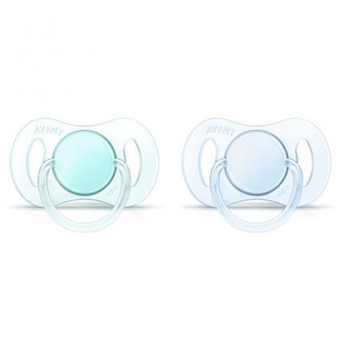 PHILIPS 0-2m Orthodontic BPA-Free Mini Pacifiers SCF151/01