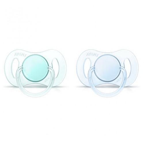 PHILIPS 0-2m Orthodontic BPA-Free Mini Pacifiers SCF151/01