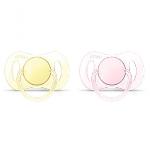 PHILIPS 0-2m Orthodontic BPA-Free Mini Pacifiers SCF151/02