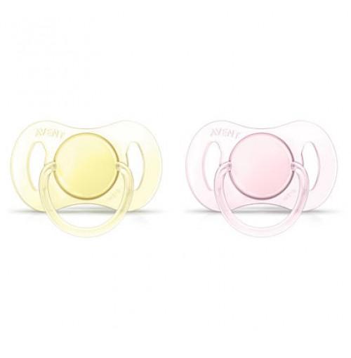 PHILIPS 0-2m Orthodontic BPA-Free Mini Pacifiers SCF151/02