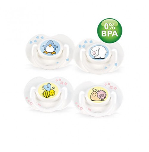 Philips AVENT Fashion Pacifiers SCF172/20 0-3m BPA-Free