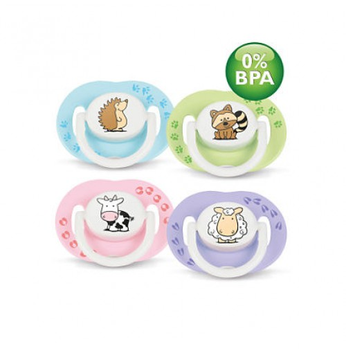 Philips AVENT Fashion Pacifiers SCF172/21 3-6 m BPA-Free