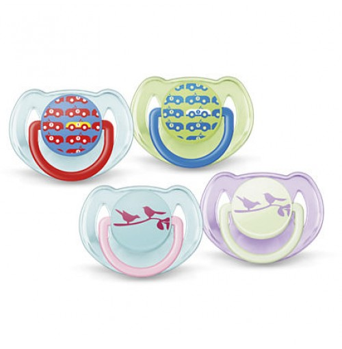 Philips AVENT Classic Soothers SCF172/22 6-18m Orthodontic BPA-Free