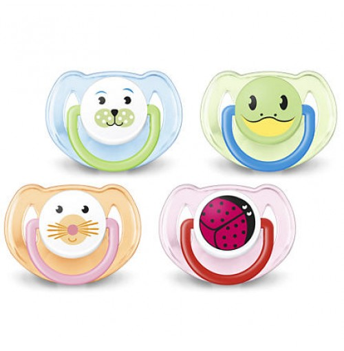 Philips AVENT Classic Pacifiers SCF182/24 6-18m BPA-Free