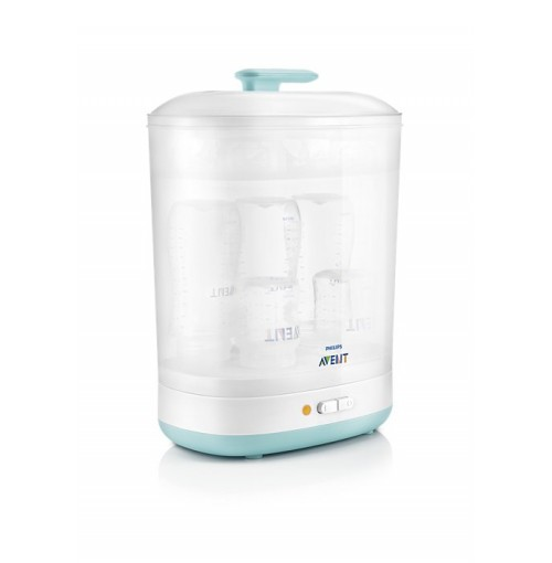 PHILIPS 2-in-1 electric steam steriliser SCF922/03