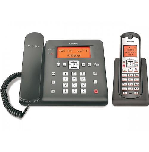 Siemens GIGASET SIEMENS SL400AM CORDLESS PHONE
