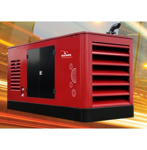 Eicher Volvo 100 KVA Three Phase Generator EE683TCI