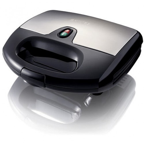 Philips Sandwich maker HD2383 Black METAL
