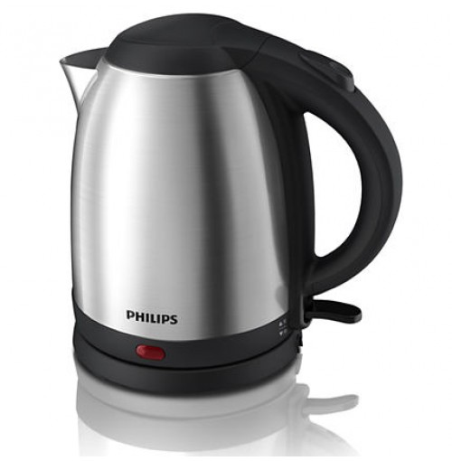 Philips Daily Collection Kettle HD9306/03 1.5 L, 1800 W Water level indicator Food-grade stainless steel Hinged lid