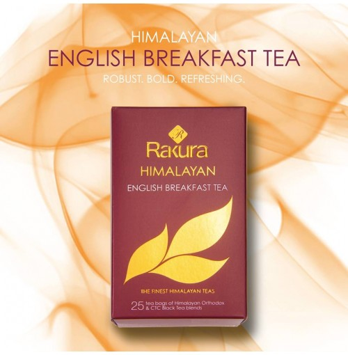 RAKURA HIMALAYAN ENGLISH BREAKFAST TEA