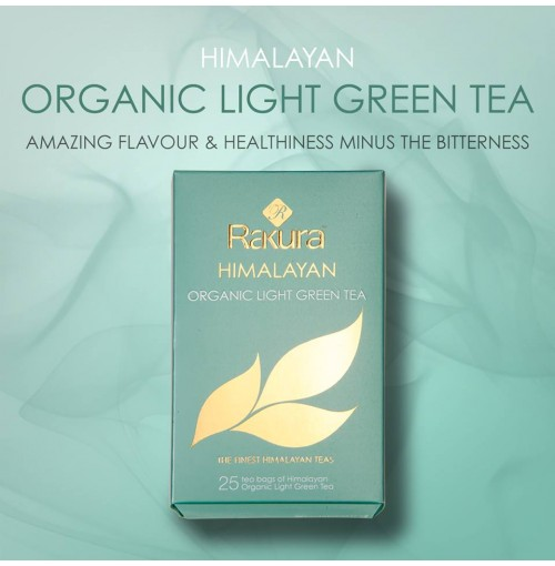 RAKURA HIMALAYAN ORGANIC LIGHT GREEN TEA