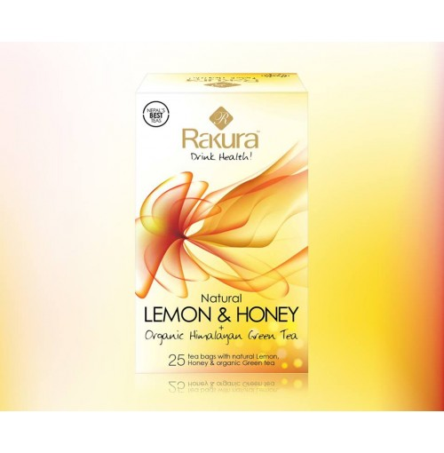 Rakura Lemon&Honey+Organic Himalayan Green Tea