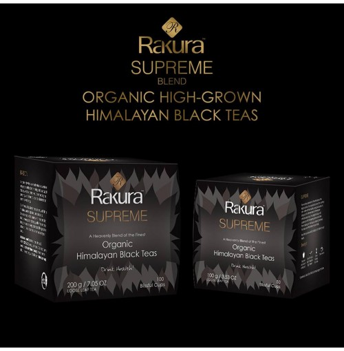 Rakura Supreme Organic Black Tea