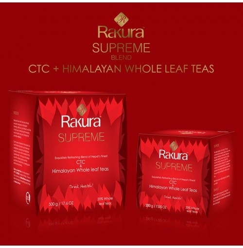 Rakura Supreme drink health finest himalayan tea