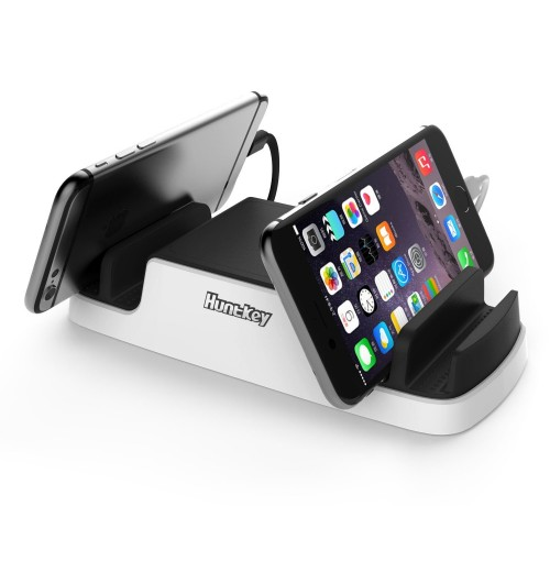 Huntkey SmartU USB Charging Dock with 4 USB 2.4A ports and 2 Micro USB
