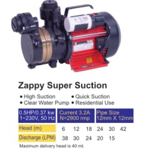 Sarvo Zappy Super Suction